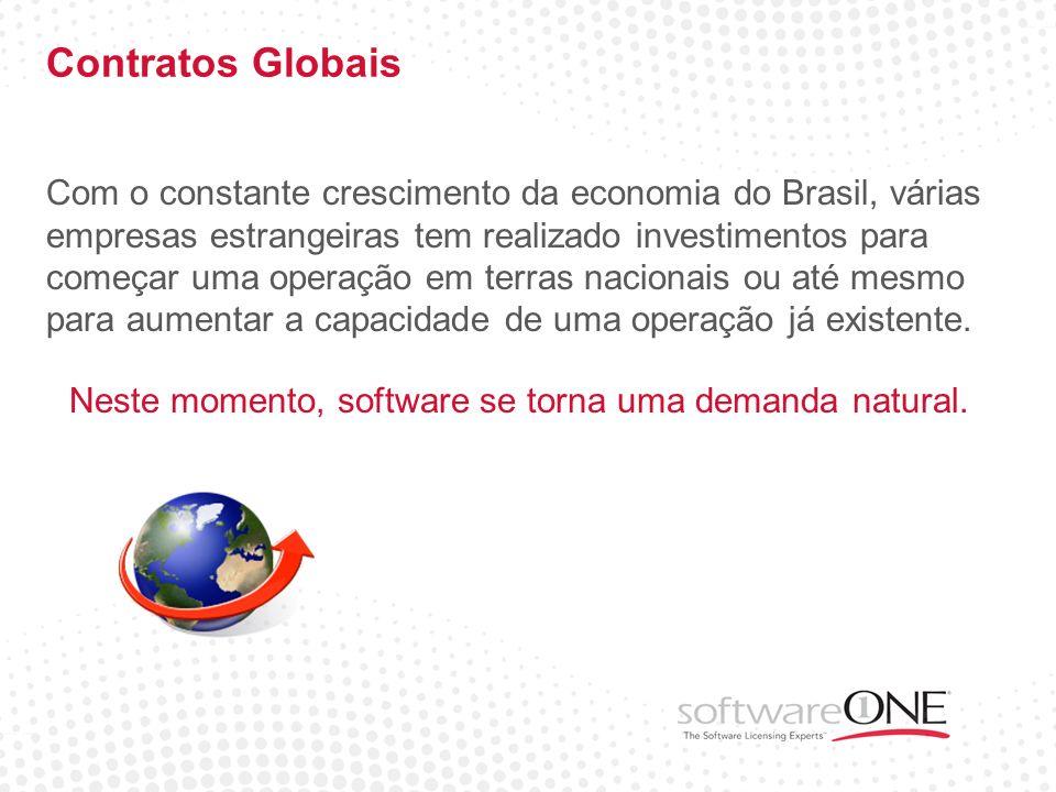 Contratos Globais Com o constante crescimento da economia do Brasil, várias empresas estrangeiras tem realizado investimentos para começar uma operaçã