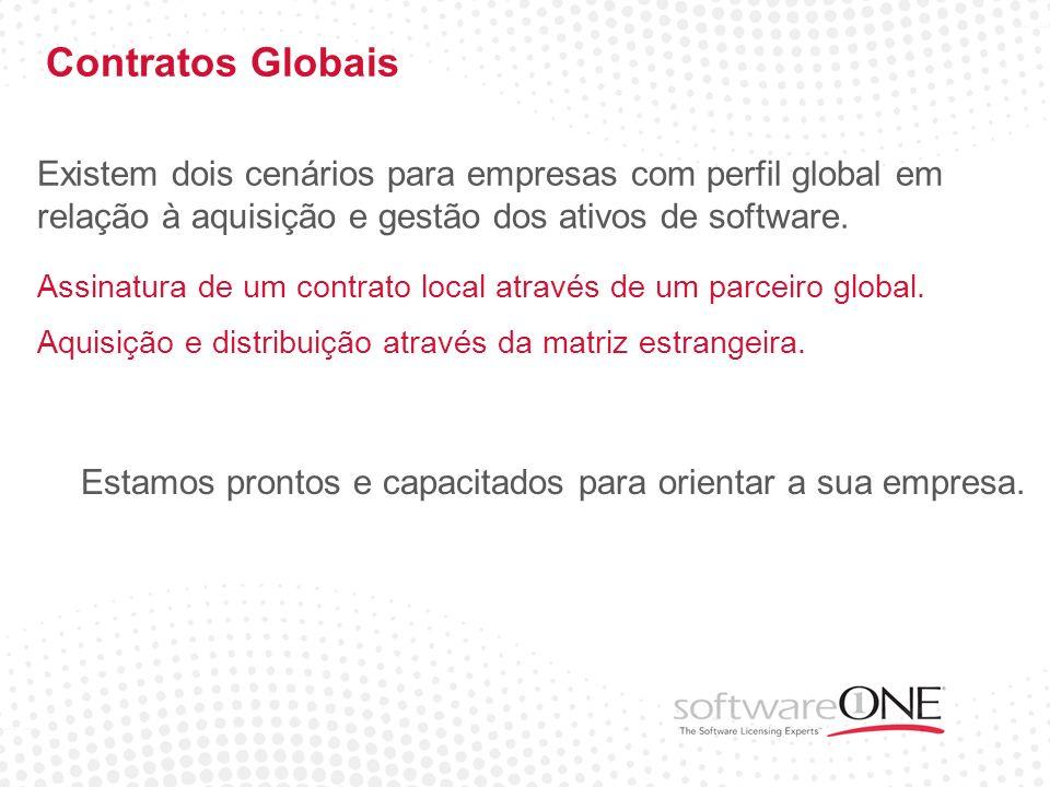 Contratos Globais Estamos prontos e capacitados para orientar a sua empresa. Existem dois cenários para empresas com perfil global em relação à aquisi