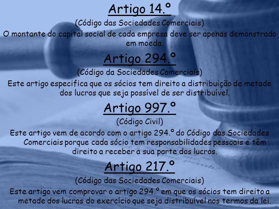 Artigo 14.º (Código das Sociedades Comerciais) O montante do capital social de cada empresa deve ser apenas demonstrado em moeda.