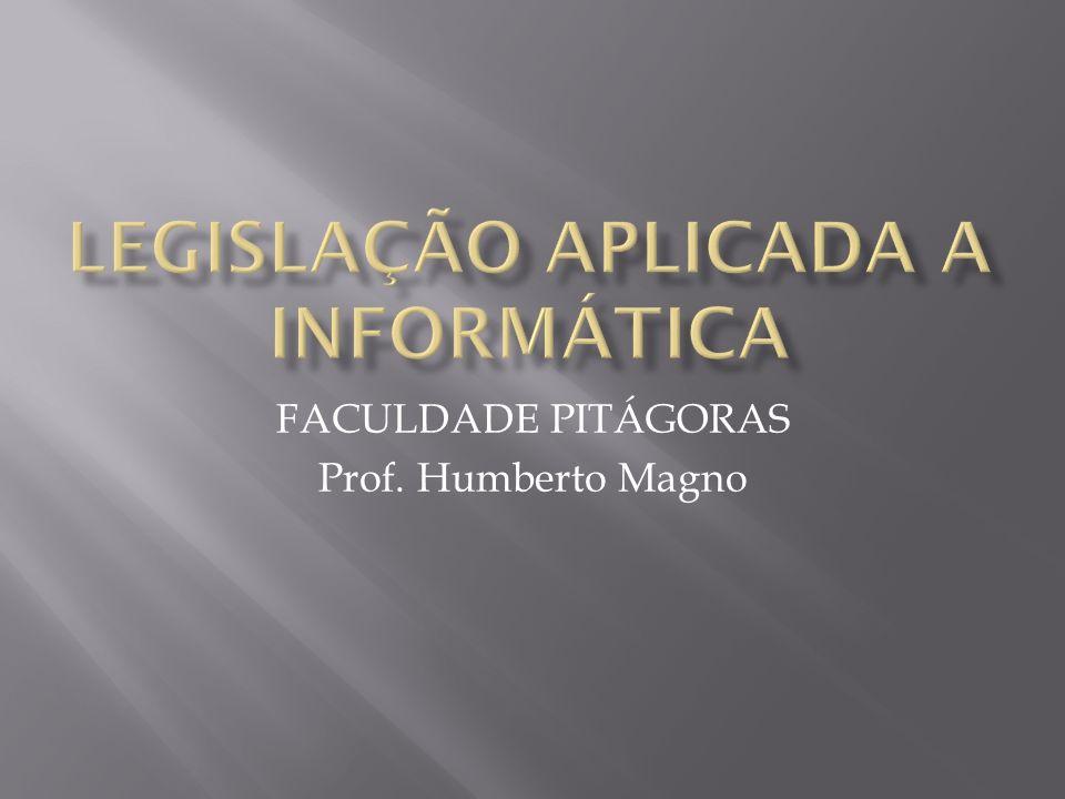 FACULDADE PITÁGORAS Prof. Humberto Magno