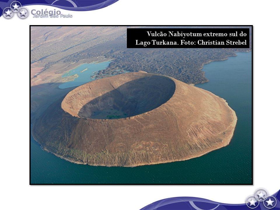 Vulcão Nabiyotum extremo sul do Lago Turkana. Foto: Christian Strebel