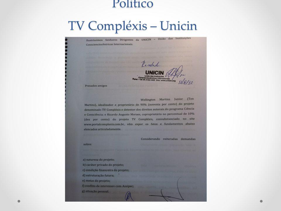 Político TV Compléxis – Unicin