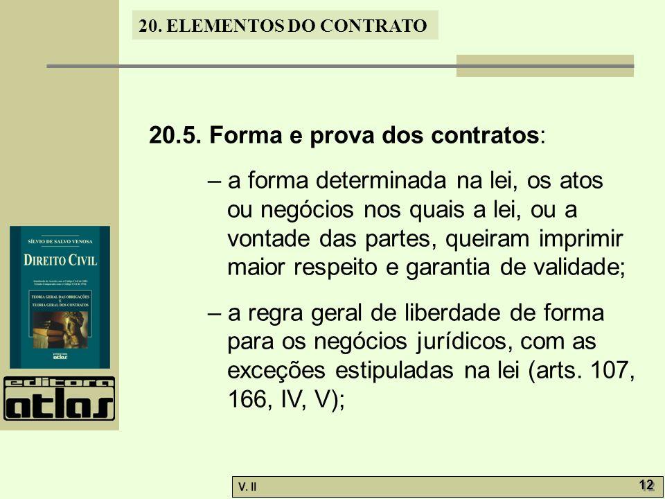 V.II 12 20. ELEMENTOS DO CONTRATO 20.5.