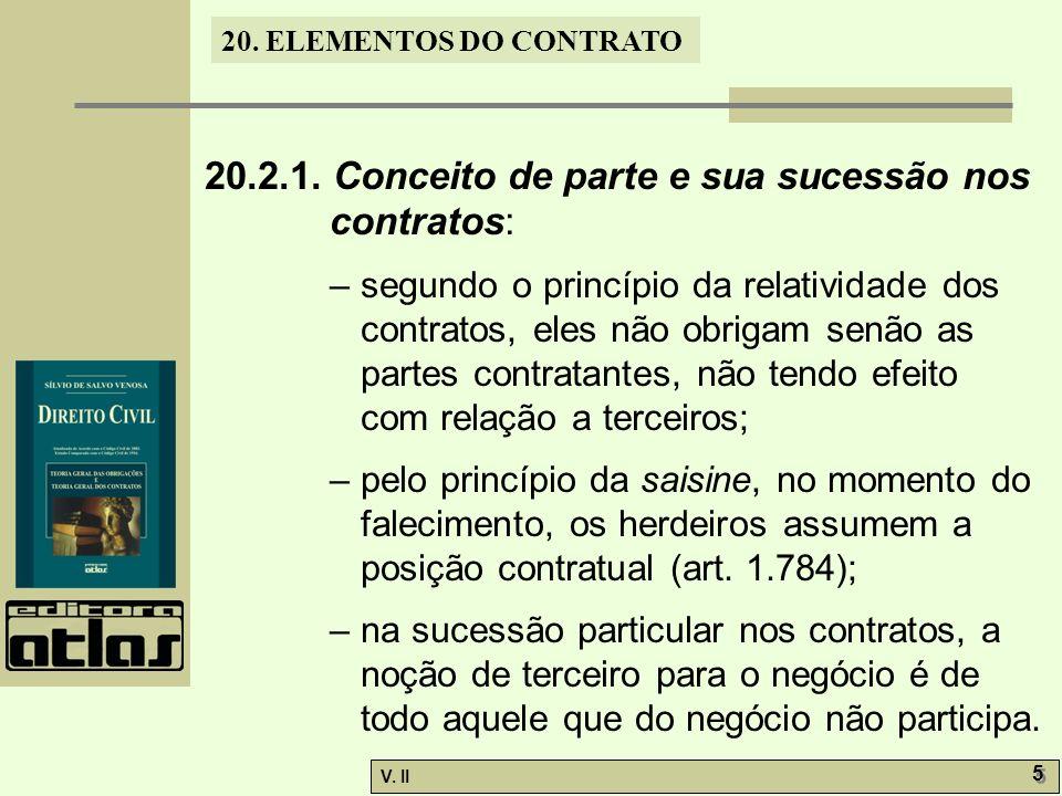 V.II 5 5 20. ELEMENTOS DO CONTRATO 20.2.1.