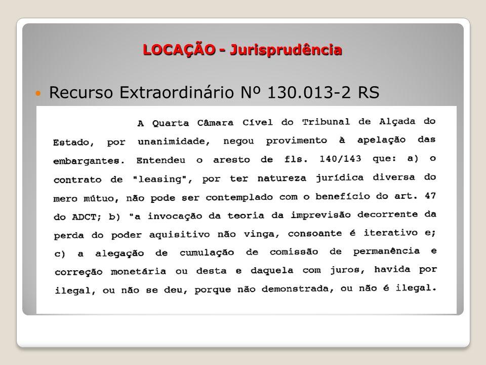 Recurso Extraordinário Nº 130.013-2 RS