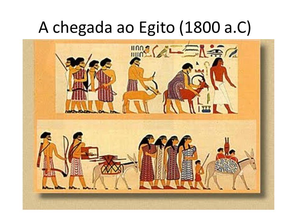 A chegada ao Egito (1800 a.C)