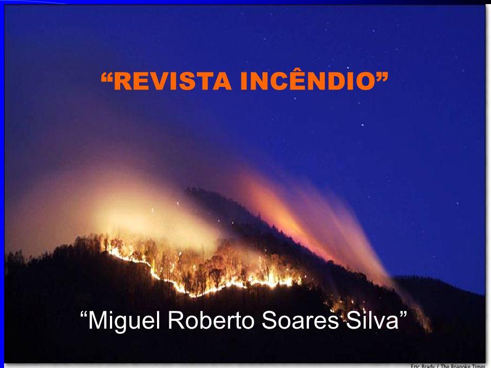 Miguel Roberto Soares Silva REVISTA INCÊNDIO