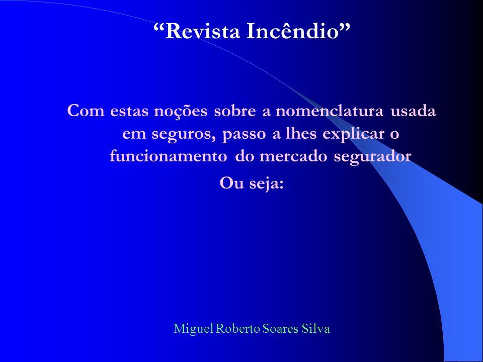 Miguel Roberto Soares Silva FRANQUIA - termo utilizado pelo segurador para definir valor calculado matematicamente e estabelecido no contrato de segur