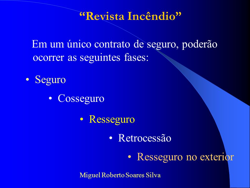 SEGURADORAS SEGURADOS CORRETORES SUSEPIRB BRASIL C N S P Revista Incêndio Miguel Roberto Soares Silva Como funciona o Sistema Nacional de Seguros