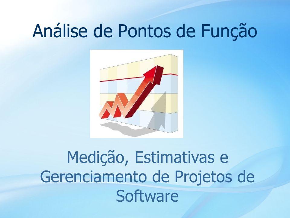 3 Agenda Importância da medição Uso da APF na gerência de projetos Uso da APF em estimativas Uso da APF em contratos de software Visão geral da APF Mundo das métricas funcionais