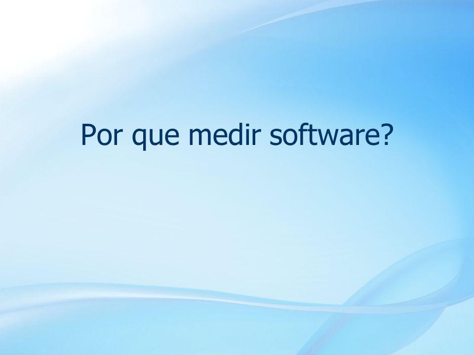 4 Por que medir software?