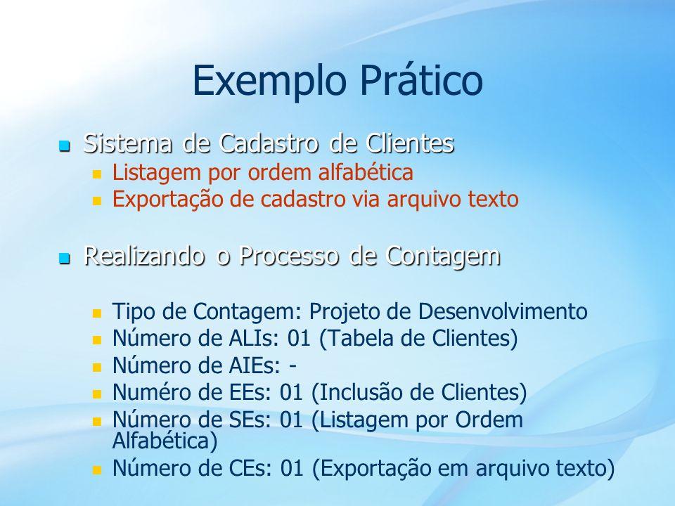 47 Exemplo Prático Sistema de Cadastro de Clientes Sistema de Cadastro de Clientes Listagem por ordem alfabética Exportação de cadastro via arquivo te