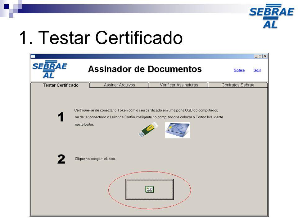 Através desta tela, é possível checar os detalhes das assinaturas de um determinado arquivo.