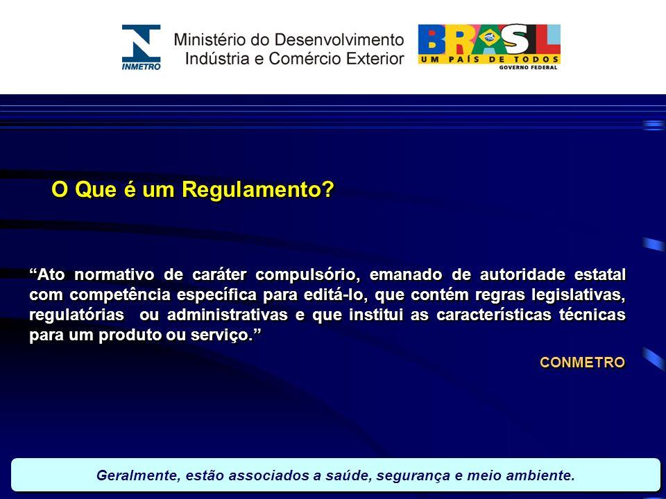 O Que é um Regulamento? Ato normativo de caráter compulsório, emanado de autoridade estatal com competência específica para editá-lo, que contém regra