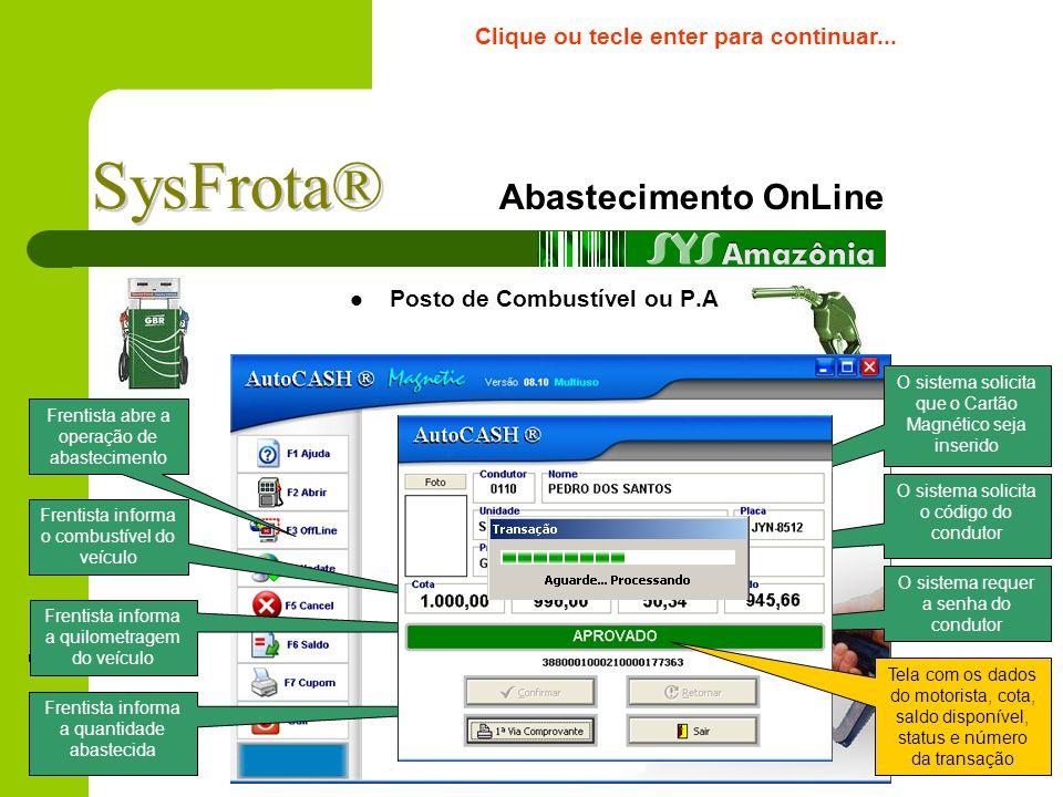 Portfólio de Clientes* *Alguns clientes que utilizam ou já utilizaram o sistema. Clique ou tecle enter para continuar...