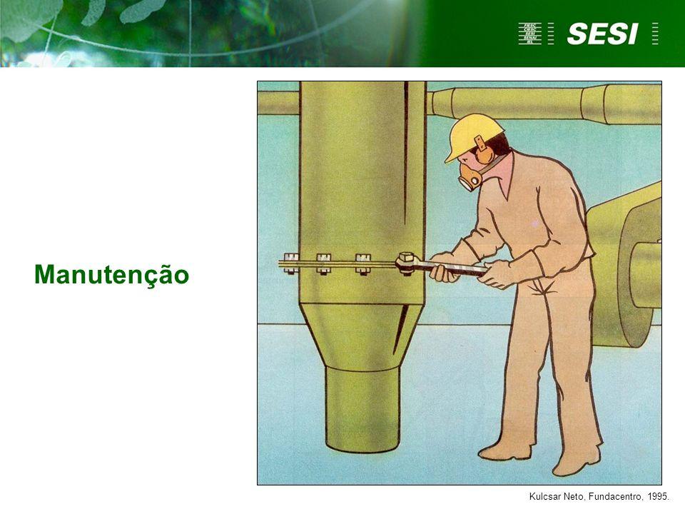 Manutenção Kulcsar Neto, Fundacentro, 1995.