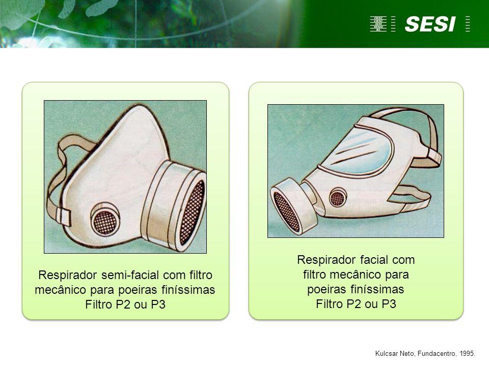 Respirador semi-facial com filtro mecânico para poeiras finíssimas Filtro P2 ou P3 Respirador facial com filtro mecânico para poeiras finíssimas Filtr