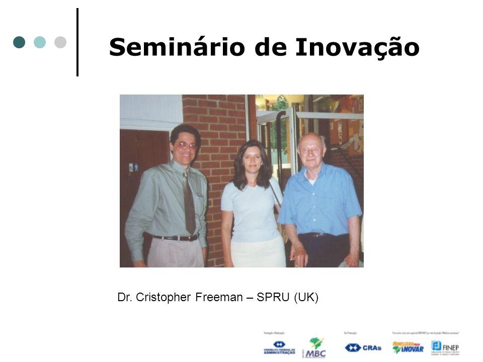 Seminário de Inovação Dr. Cristopher Freeman – SPRU (UK)