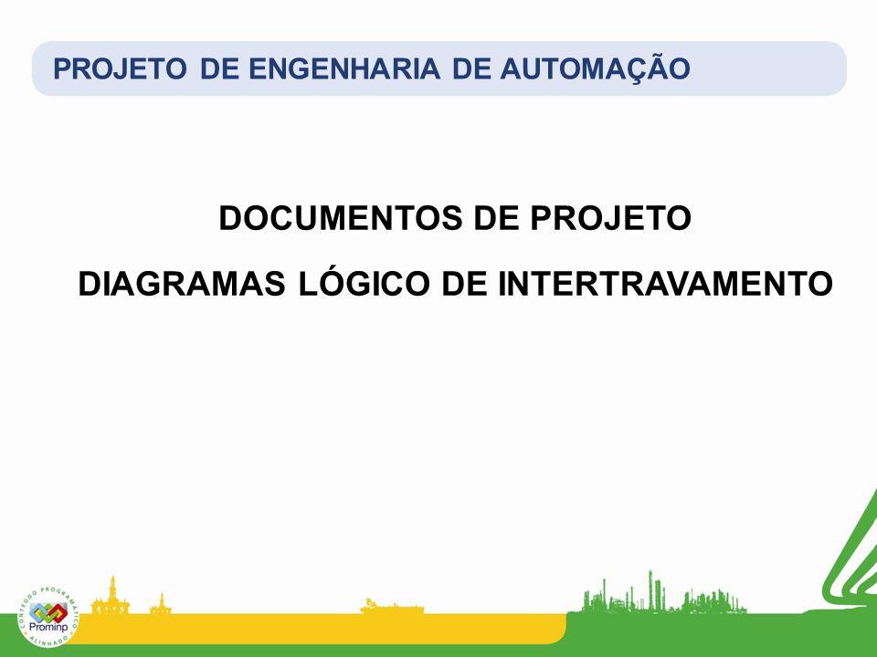 DOCUMENTOS DE PROJETO DIAGRAMAS LÓGICO DE INTERTRAVAMENTO