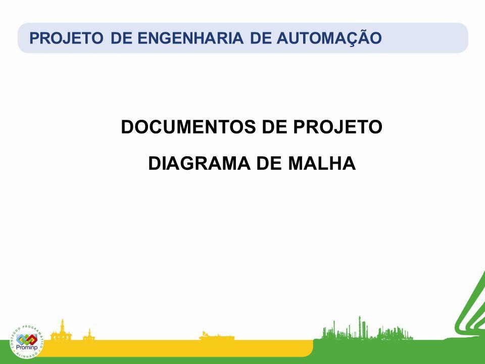 PROJETO DE ENGENHARIA DE AUTOMAÇÃO DOCUMENTOS DE PROJETO DIAGRAMA DE MALHA