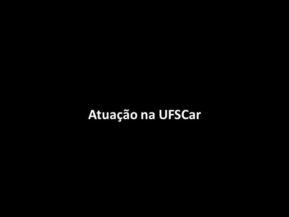 Atuação na UFSCar