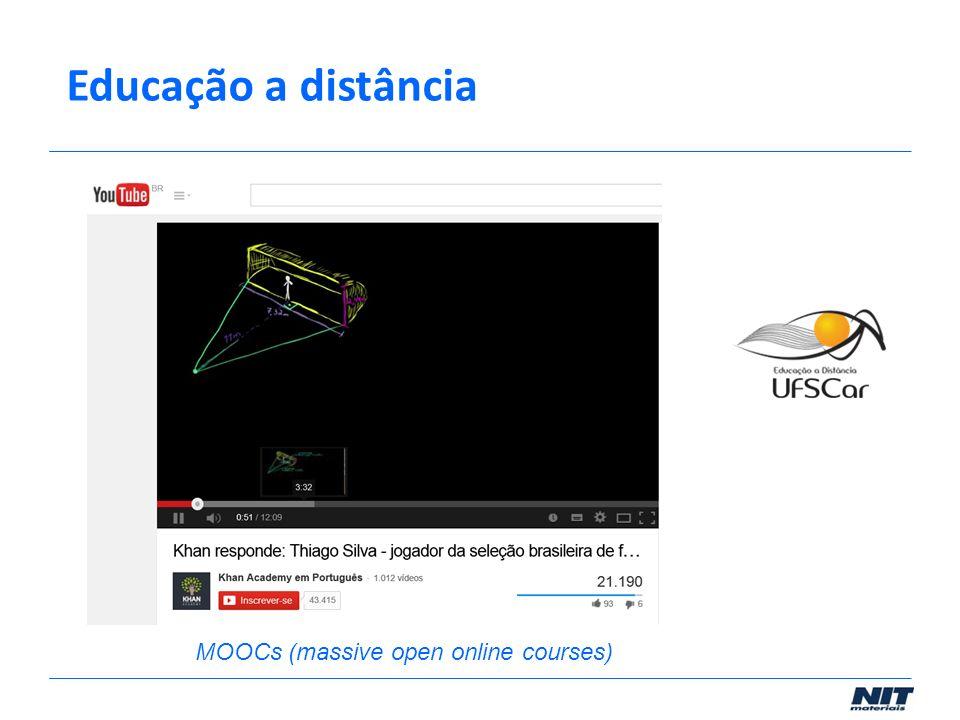 Educação a distância MOOCs (massive open online courses)