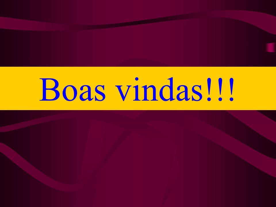 Boas vindas!!!