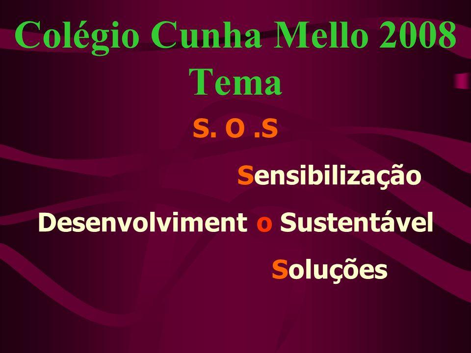 Contatos através de: Site do Colégio: www.cunhamello.com.brwww.cunhamello.com.br Email: atendimento@cunhamello.com.bratendimento@cunhamello.com.br Tel: 3395-0790