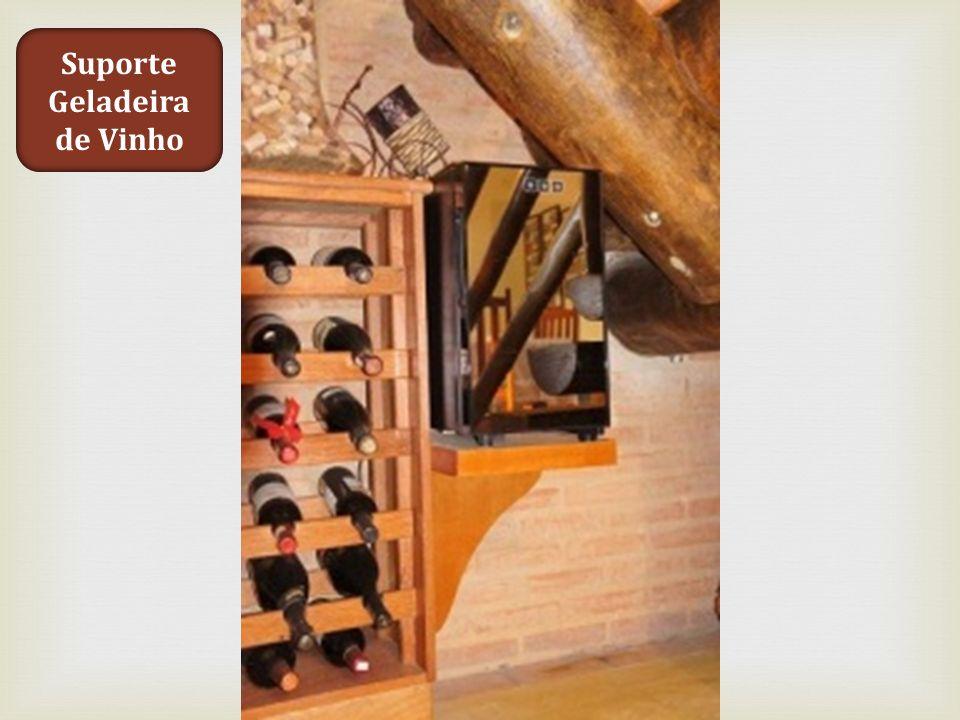 Suporte Geladeira de Vinho