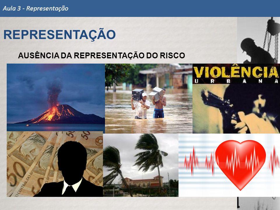 AUSÊNCIA DA REPRESENTAÇÃO DO RISCO REPRESENTAÇÃO Aula 3 - Representação