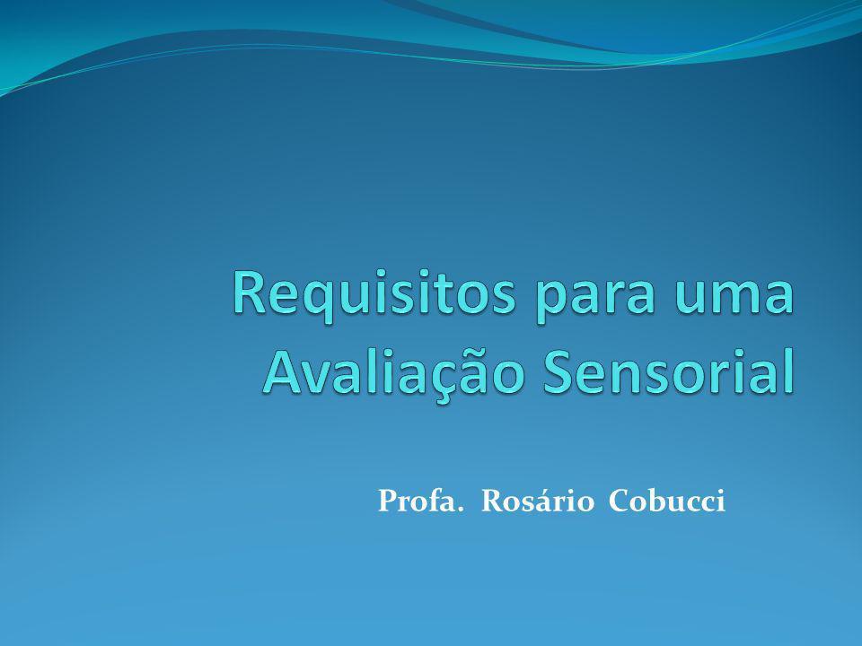 Introdução A análise sensorial é uma avaliação subjetiva uma vez que depende do julgamento do HOMEM através dos seus sentidos (tato, visão, audição, gosto e olfato).