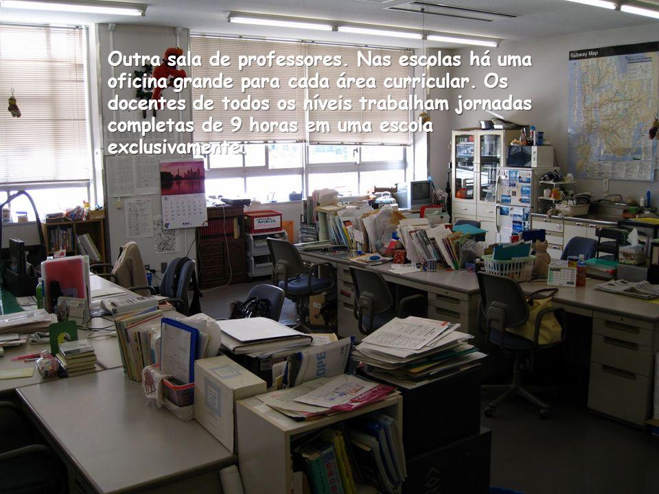Sala de professores.
