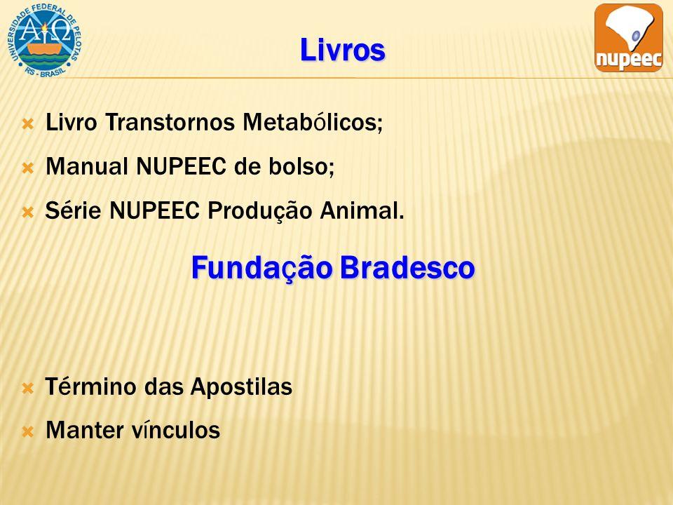 Livros Livro Transtornos Metabólicos; Manual NUPEEC de bolso; Série NUPEEC Produção Animal.