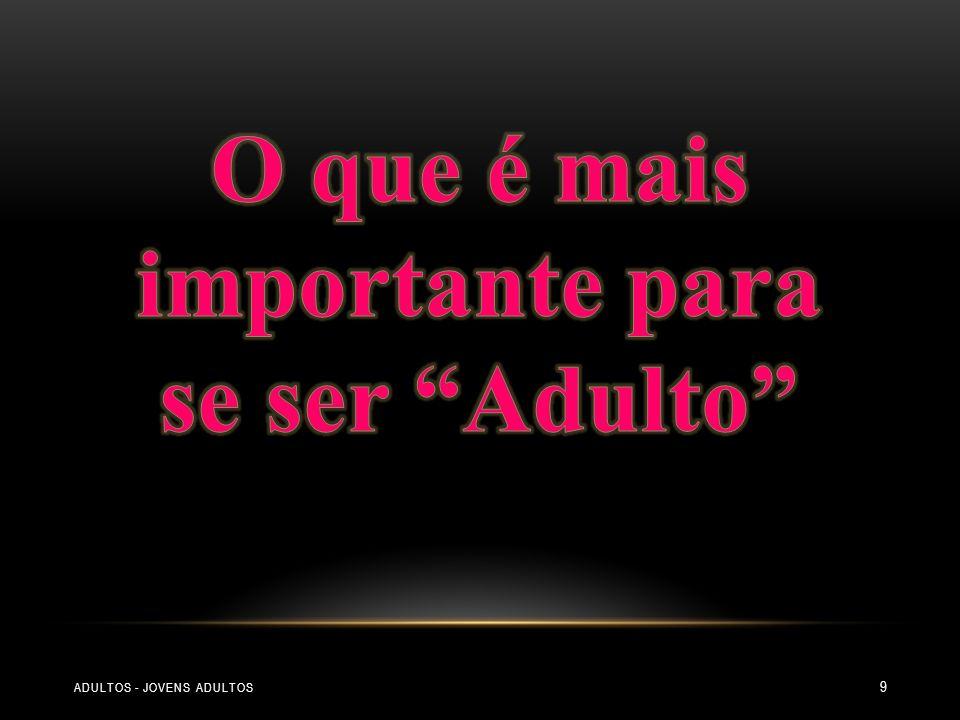 WEB-GRAFIA ADULTOS - JOVENS ADULTOS 20 http://www.tuning.online.pt/tuning/interior.php http://amcmulherescristas.blogspot.com/2009/04/adolescencia-e-suas-necessidades.html PDF: Congresso Português de Sociologia