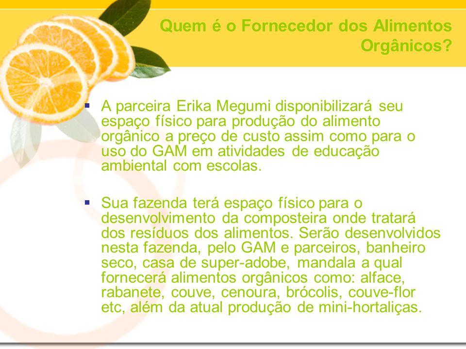 Quem é o Fornecedor dos Alimentos Orgânicos.