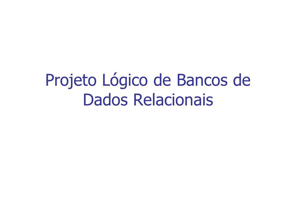 Projeto Lógico de Bancos de Dados Relacionais