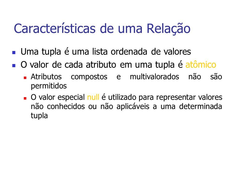 Consultas Básicas em SQL Manipulando tabelas como conjuntos SELECT SALARY FROM EMPLOYEE; SELECT DISTINCT SALARY FROM EMPLOYEE; (SELECT PNUMBER FROM PROJECT, DEPARTMENT, EMPLOYEE WHERE DNUM=DNUMBER AND MGRSSN=SSN AND LNAME=Smith) UNION (SELECT PNUMBER FROM PROJECT, WORKS_ON, EMPLOYEE WHERE PNUMBER=PNO AND ESSN=SSN AND LNAME=Smith); Não elimina linhas (tuplas) duplicatas