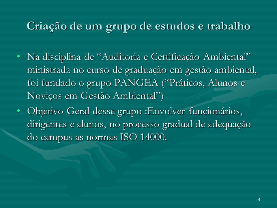 5 Metodologia Divisão dos alunos em dois grupos: auditores e consultores.Divisão dos alunos em dois grupos: auditores e consultores.