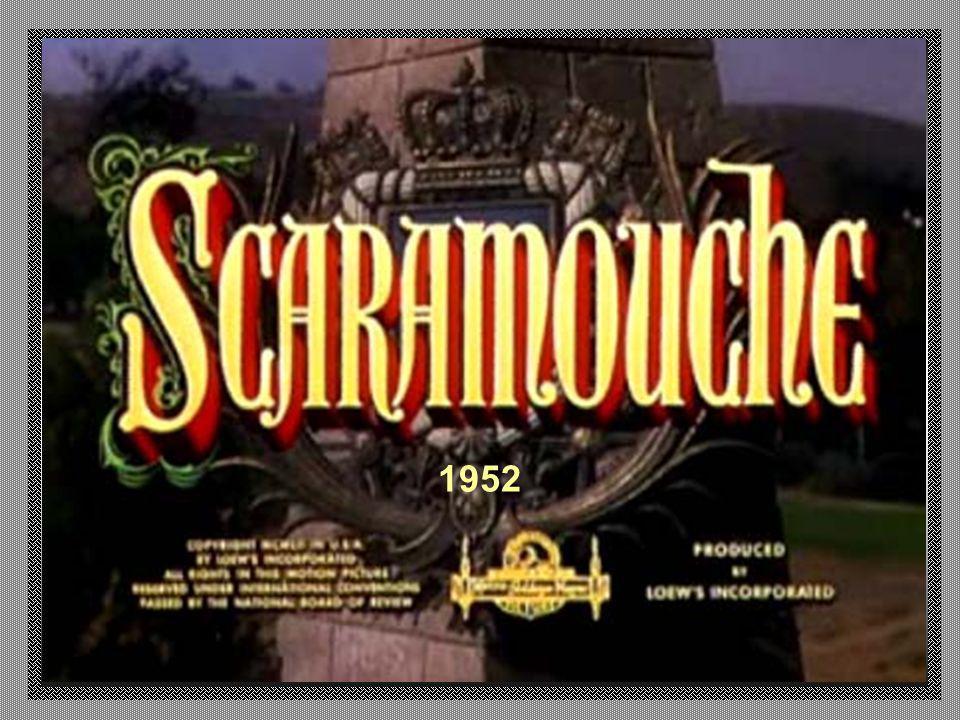 Lá, ele tem a oportunidade de substituir o mímico Scaramouche, um personagem que atua por trás de uma máscara.