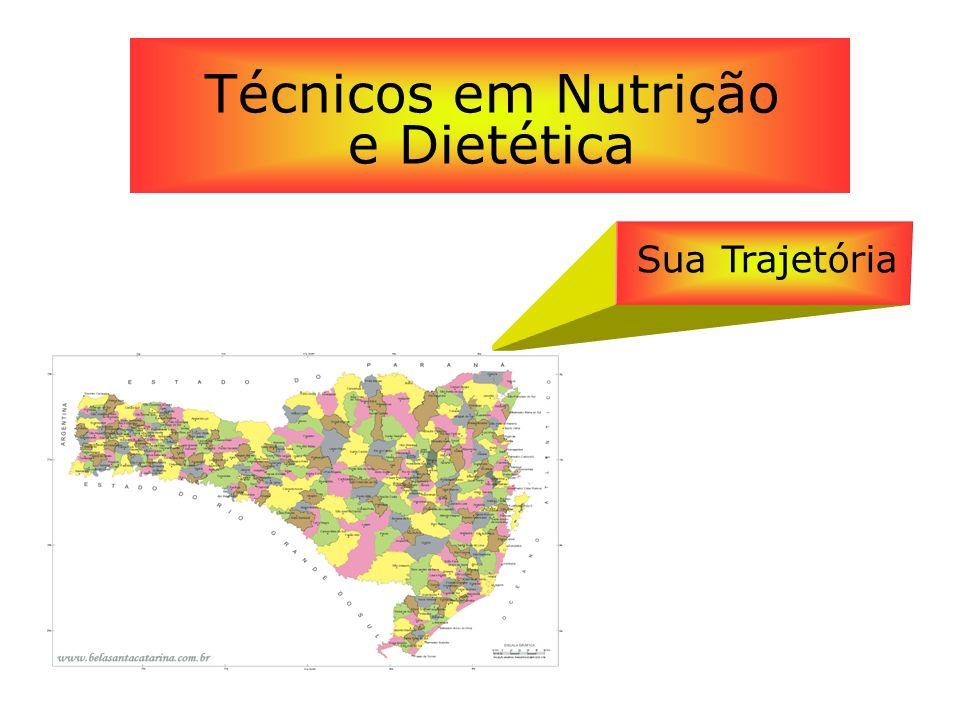 Técnicos em Nutrição e Dietética Sua Trajetória