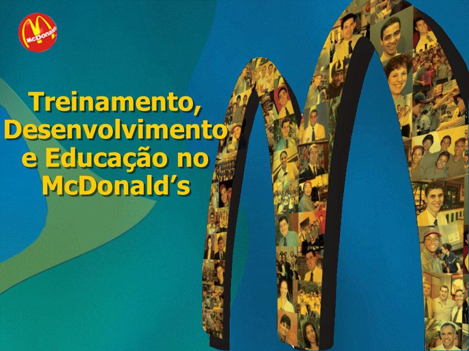 Treinamento, Desenvolvimento e Educação no McDonalds