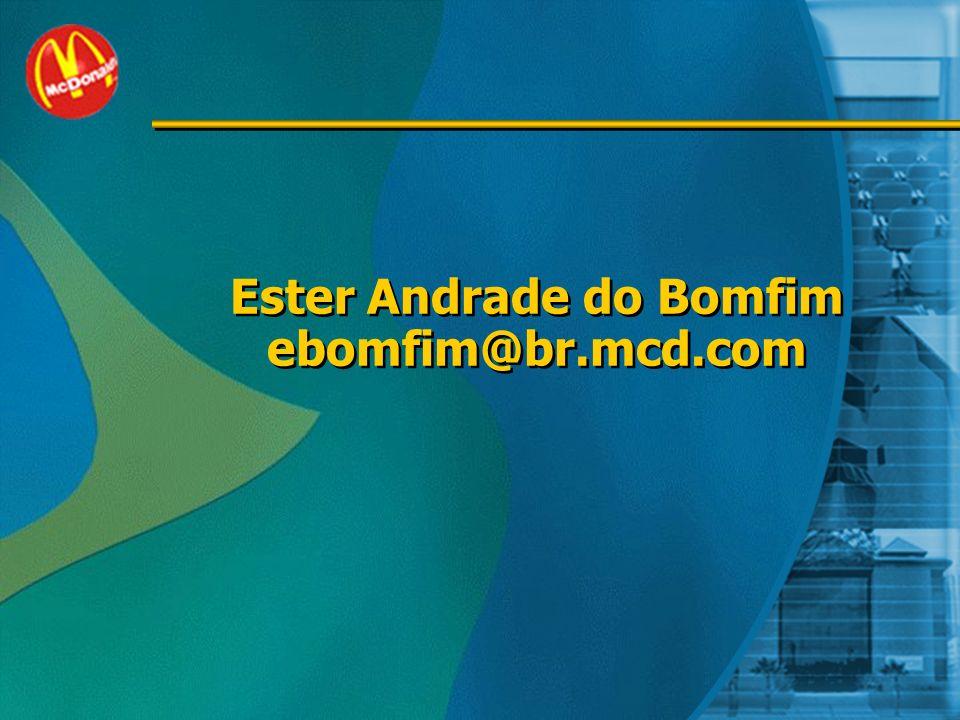 Ester Andrade do Bomfim ebomfim@br.mcd.com