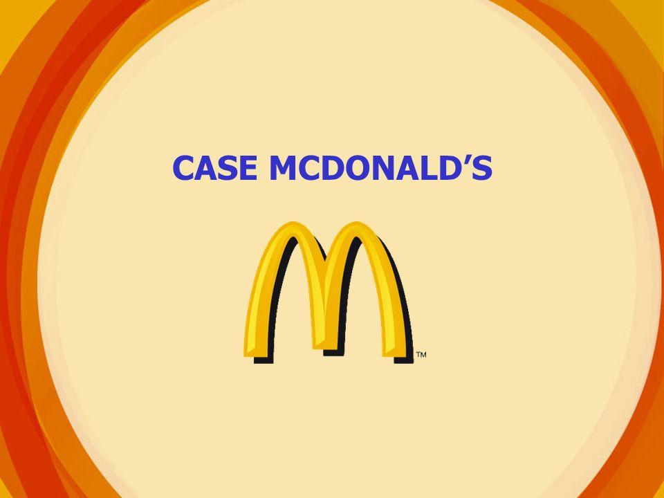 CASE MCDONALDS