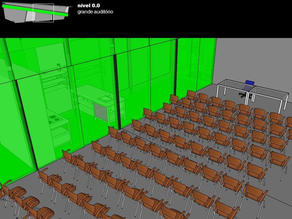 nível 0.0 grande auditório