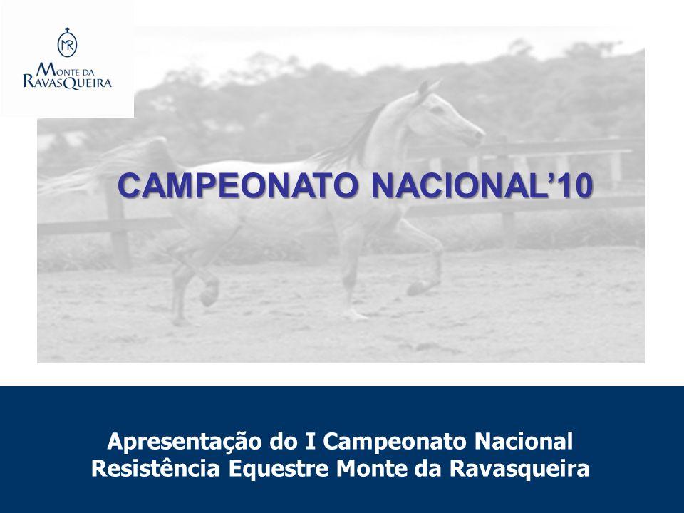 Apresentação do I Campeonato Nacional Resistência Equestre Monte da Ravasqueira CAMPEONATO NACIONAL10