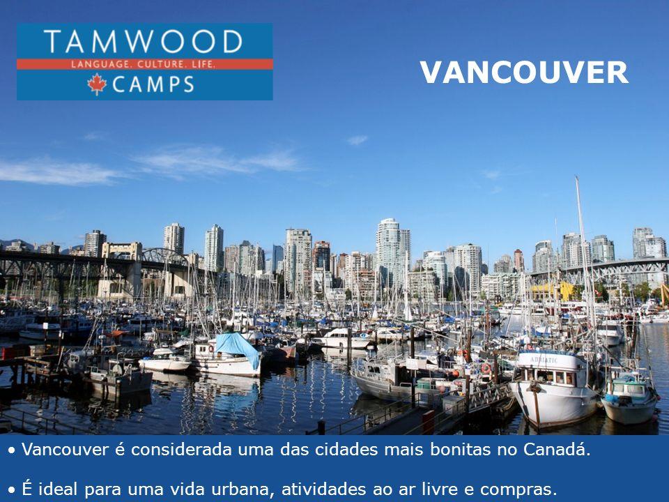 Vancouver é considerada uma das cidades mais bonitas no Canadá. É ideal para uma vida urbana, atividades ao ar livre e compras. Ideal for urban and ou