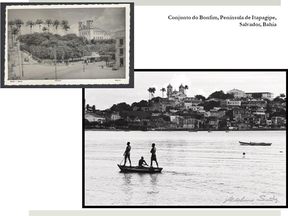 Conjunto de Mont Serrat, Península de Itapagipe, Salvador, Bahia