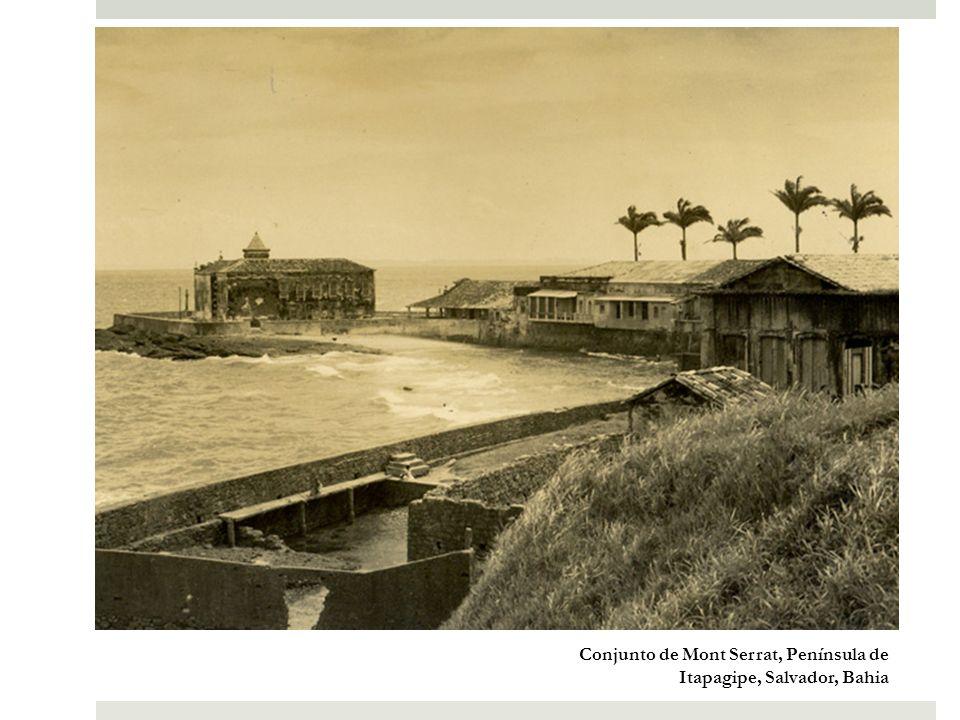 Arena Fonte Nova, centro antigo e Península de Itapagipe ao fundo, Salvador, Bahia