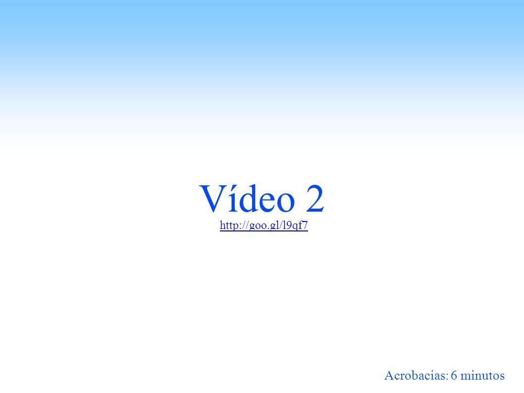Vídeo 2 Acrobacias: 6 minutos http://goo.gl/l9qf7