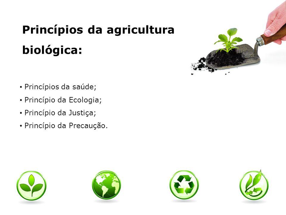 Vantagens do consumo de produtos biológicos: Contribuir para um ecossistema melhor; Maior preservação de um espaço rural, satisfazendo as gerações futuras.